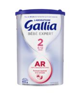 GALLIA BEBE EXPERT AR 2 Lait en poudre B/800g à Bordeaux