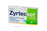 ZYRTECSET 10 mg, comprimé pelliculé sécable