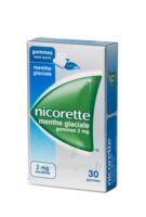 NICORETTE 2 mg Gom à mâcher médic sans sucre menthe glaciale Plq/30gom à Bordeaux