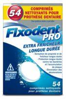 Fixodent Pro Comprimés Nettoyant Fraîcheur Longue Durée Pour Prothèse Dentaire B/54 à Bordeaux