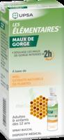 LES ELEMENTAIRES Solution buccale maux de gorge adulte 30ml à Bordeaux