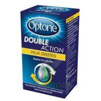 OPTONE DOUBLE ACTION Solution oculaire yeux irrités Fl/10ml à Bordeaux