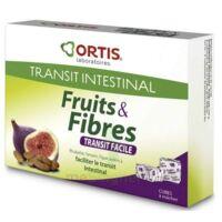ORTIS FRUITS & FIBRES Cube à mâcher transit facile B/12 à Bordeaux