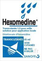 HEXOMEDINE TRANSCUTANEE 1,5 POUR MILLE, solution pour application locale à Bordeaux