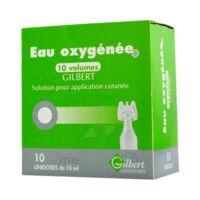 EAU OXYGENEE 10 VOLUMES GILBERT, solution pour application cutanée en récipient unidose à Bordeaux