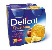 DELICAL BOISSON FRUITEE Nutriment multi fruits 4Bouteilles/200ml à Bordeaux
