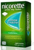 Nicorette 2 Mg Gom à Mâcher Médic Sans Sucre Menthe Fraîche Plq/30gom à Bordeaux