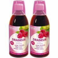 MILICAL DRAINEUR ULTRA Solution buvable framboise 2*500ml à Bordeaux