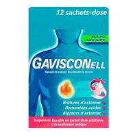 GAVISCONELL Suspension buvable sachet-dose menthe sans sucre 12Sach/10ml à Bordeaux