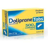 DOLIPRANETABS 500 mg Comprimés pelliculés Plq/16 à Bordeaux