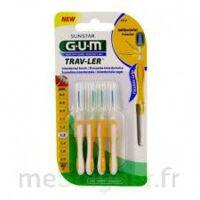 Gum Trav - Ler, 1,3 Mm, Manche Jaune , Blister 4 à Bordeaux