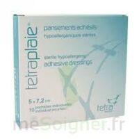 Tetraplaie Film Pansement adhésif stérile film PU 5x7,2cm B/5 à Bordeaux