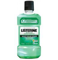 Listerine Protection Dents Gencives Bain bouche goût plus léger Fl/500ml à Bordeaux