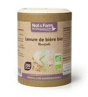 Nat&Form Eco Responsable Levure de bière Bio Gélules B/90 à Bordeaux