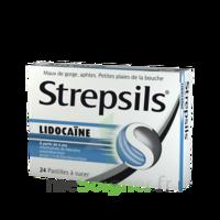 Strepsils lidocaïne Pastilles Plq/24 à Bordeaux