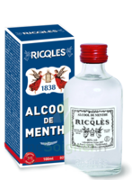 Ricqles 80° Alcool de menthe 100ml