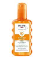 Eucerin Sun Sensitive Protect SPF50 Spray transparent corps 200ml à Bordeaux