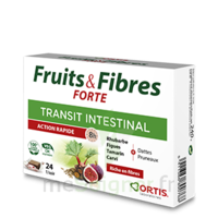 Ortis Fruits & Fibres Forte Cube à mâcher B/12 à Bordeaux