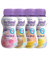 Fortimel Protein Nutriment Multi Saveurs Caramel/vanille/fraise/mangue 4 Bouteilles/200ml à Bordeaux