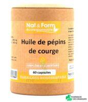 Nat&form Eco Responsable Huile De Pépins De Courge Caps B/60 à Bordeaux