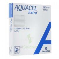 Aquacel Extra Pansement Hydrofiber Stérile 12,5x12,5cm B/16 à Bordeaux