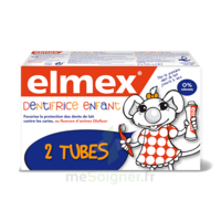 ELMEX DUO DENTIFRICE ENFANT, tube 50 ml x 2 à Bordeaux