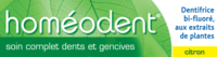 Boiron Homéodent Soin Complet Dents et Gencives Pâte Dentifrice Citron T/75ml à Bordeaux