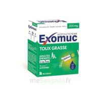 EXOMUC 200 mg glé usage oral en sachet 15 Sachets/2g à Bordeaux