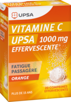 Vitamine C Upsa Effervescente 1000 Mg, Comprimé Effervescent à Bordeaux